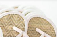 10 Paare Flip Flops rosa, weiß gemischt