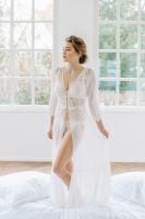 "Bridal Robe ""Lunga"" by Sina Fischer"