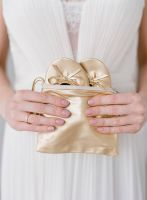 Ballerina Bride Box gold